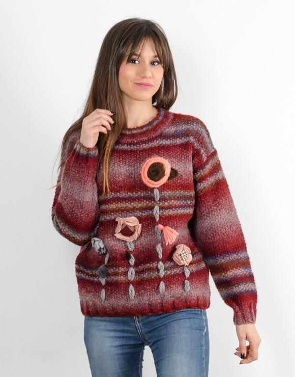 Suéter Bosque burdeos