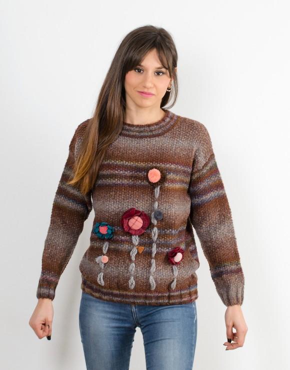 Suéter Bosque marrón