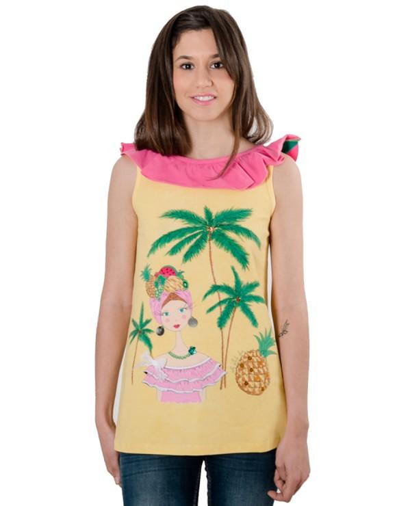 Camiseta La bella cubana