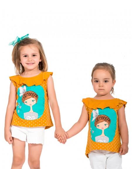 Camiseta Summer Time vista de la ilustración