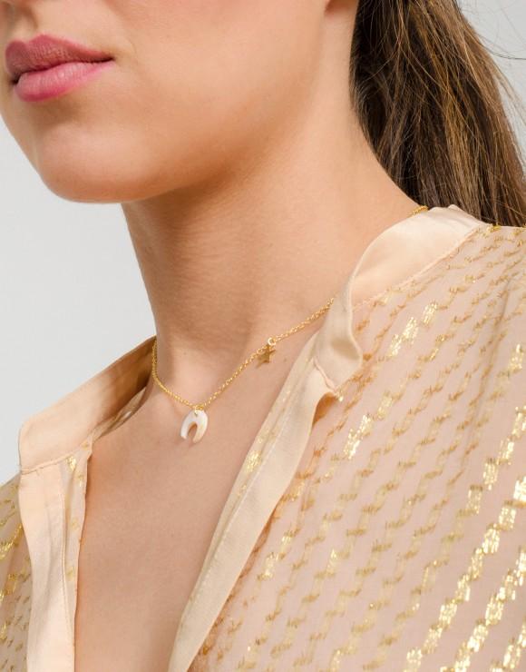 Collar Lunita detalle modelo