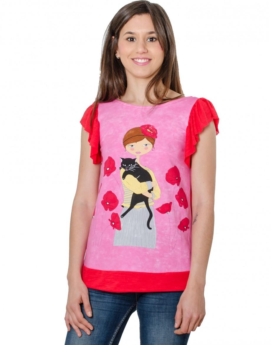 Camiseta La Flor Efímera