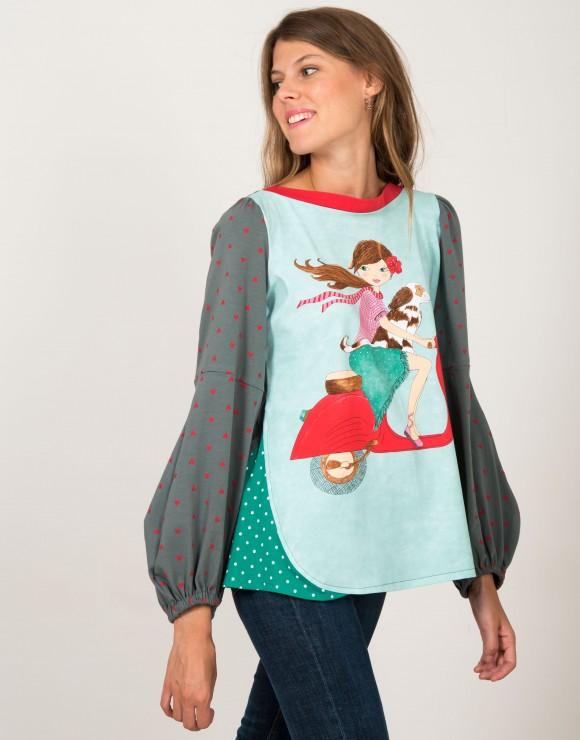 Camiseta El Amor de Canelo ilustración