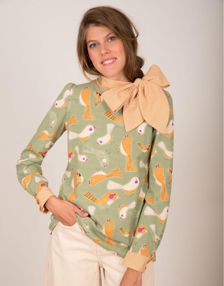 Camiseta Lady Bird con lazo
