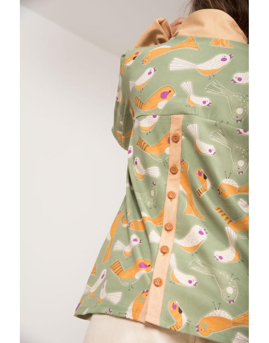 Camiseta Lady Bird con lazo detalle espalda