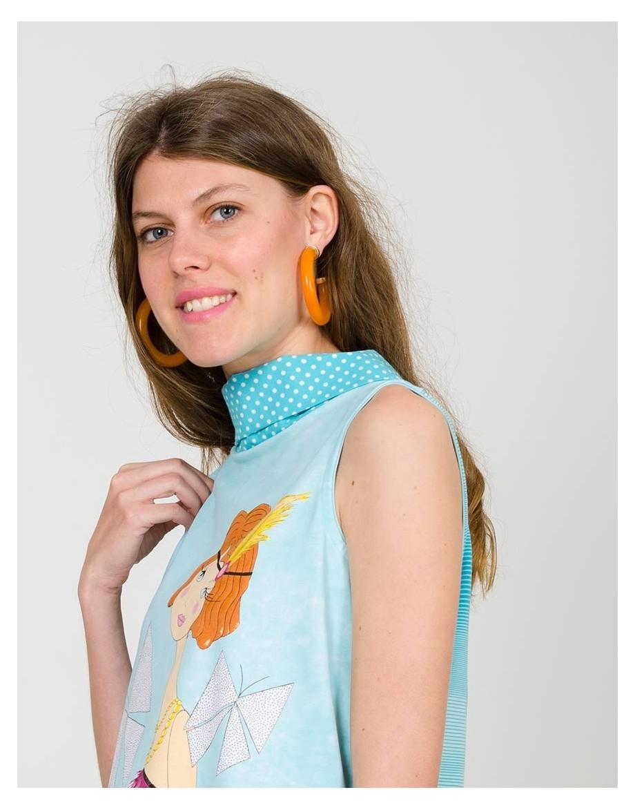 Camiseta Caraguapa detalle cuello