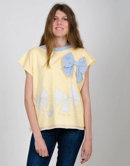 Camiseta Caleidoscopio chicas
