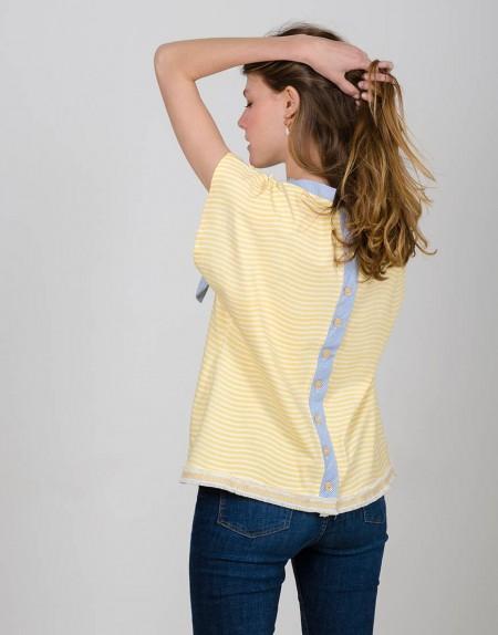 Camiseta Caleidoscopio chicas espalda