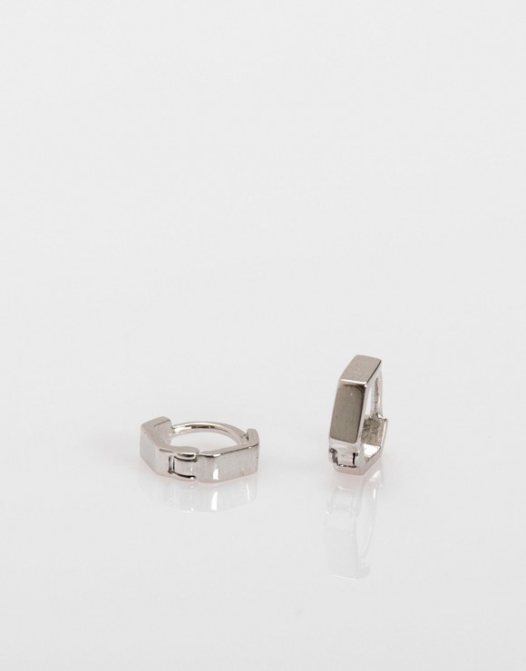 Pendientes piercing Mini hexágono