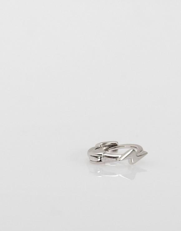 Pendientes piercing Mini rayo liso