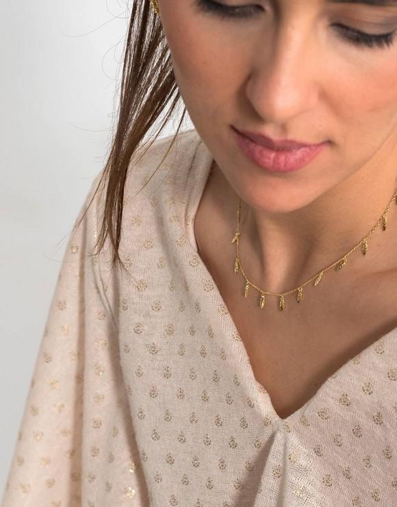 Collar Hojas