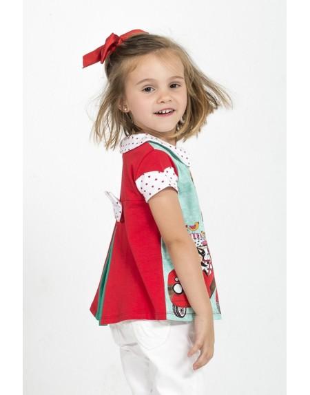 camiseta-ninas-roja-verde-blanca-corazones-sabrina