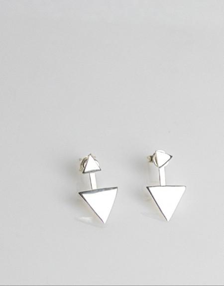 Pendientes Triángulo producto