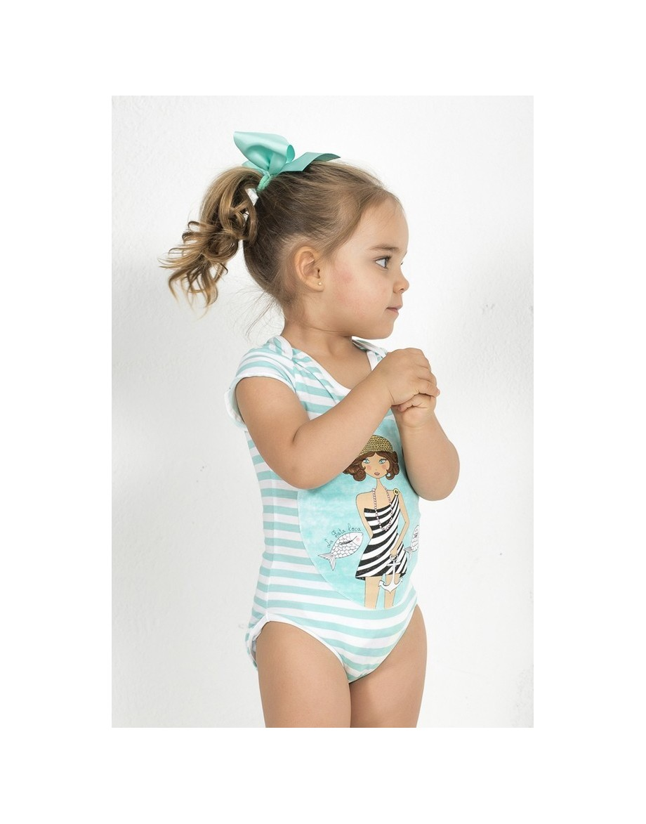 La bañista de la Costa Azul detalle