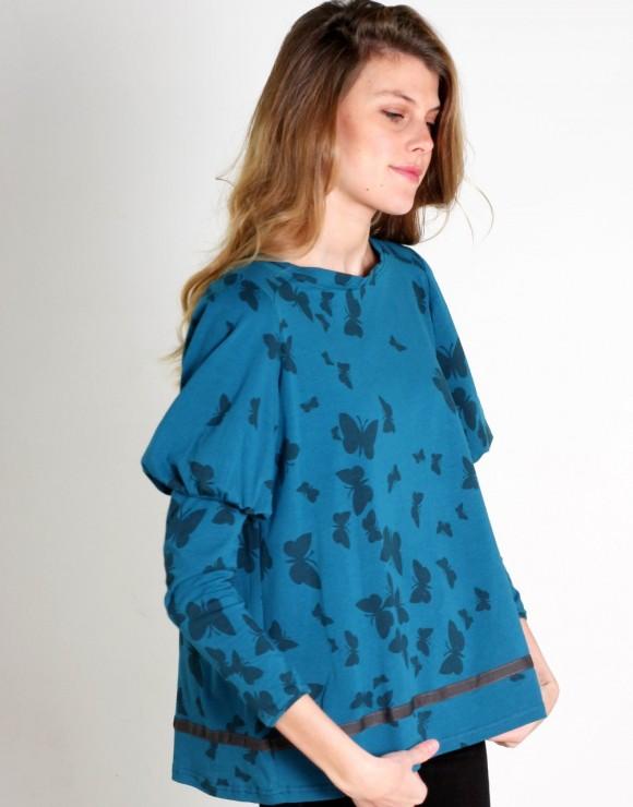 Camiseta Papillon Bleu