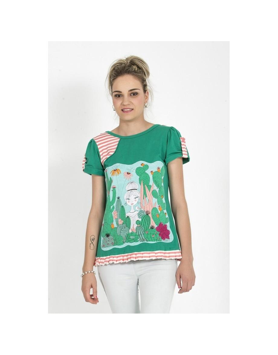 Camiseta Mágical Verde