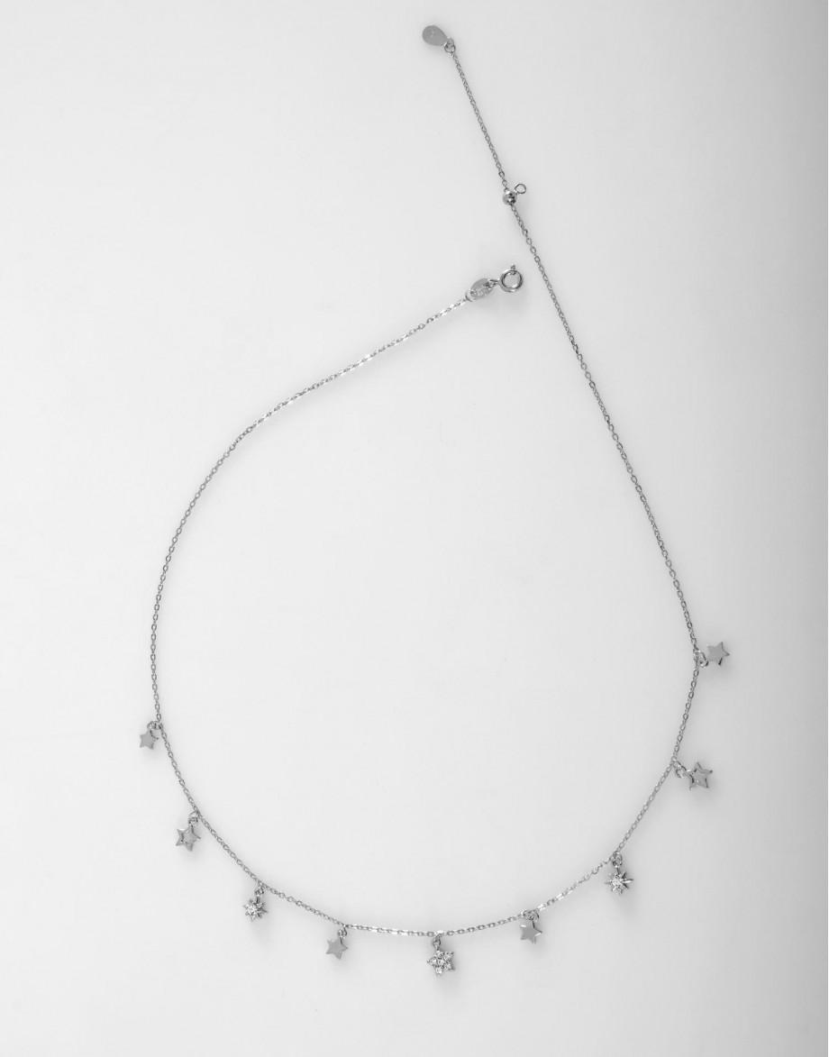 Collar Stars plata