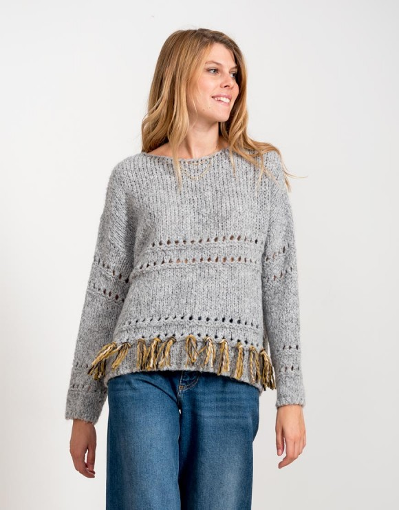 Suéter La senda gris