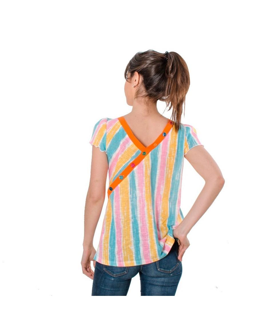 Camiseta El largo y cálido verano espalda