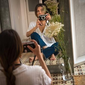 Shooting day @_isabbela_  #lagataloca_lachattedivine #lagatalocaonline#bohemianphilosophy#shootingday#